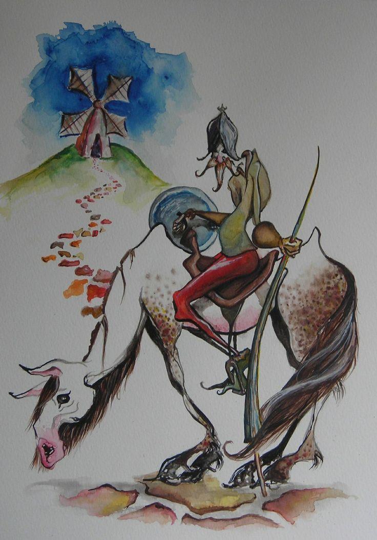 Don Quixote from deviant art.