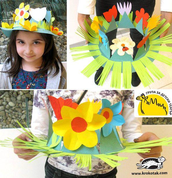 DIY Sombreros primaverales