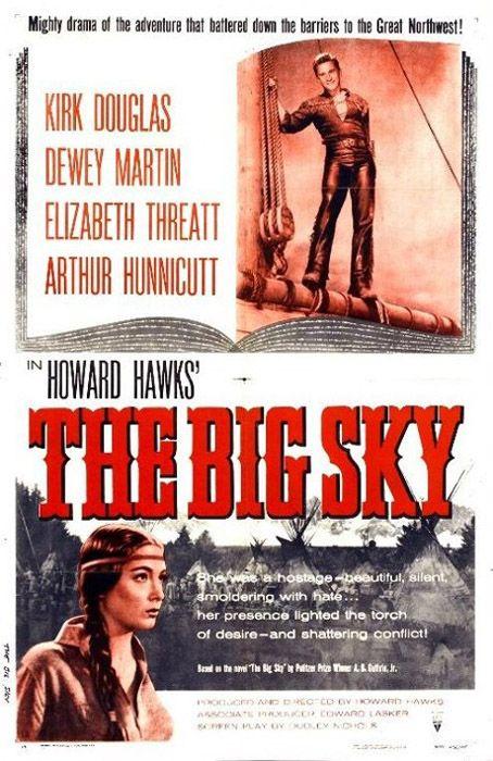 ... : La Captive aux yeux clairs (The Big Sky) - Howard Hawks, 1952