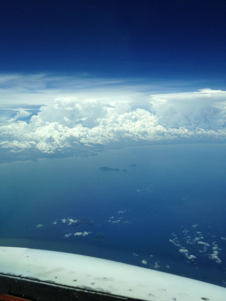 Thunderstorms building over Panama
