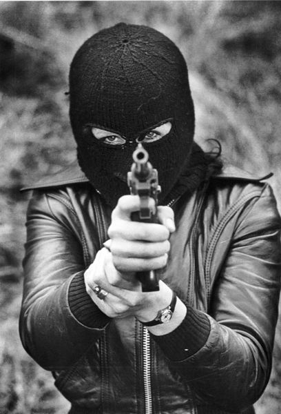 collectivehistory:    Female member of the Provisional IRA, 1975.