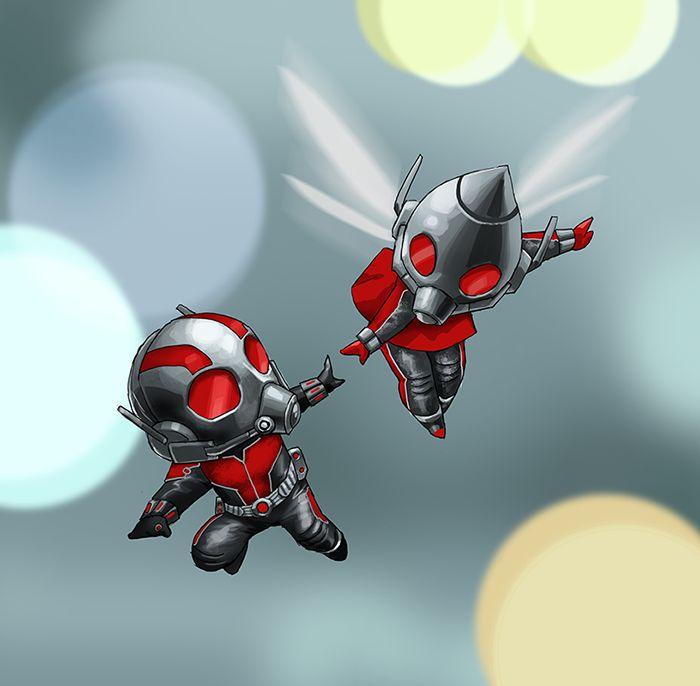Ant Man and Wasp by pungang on DeviantArt