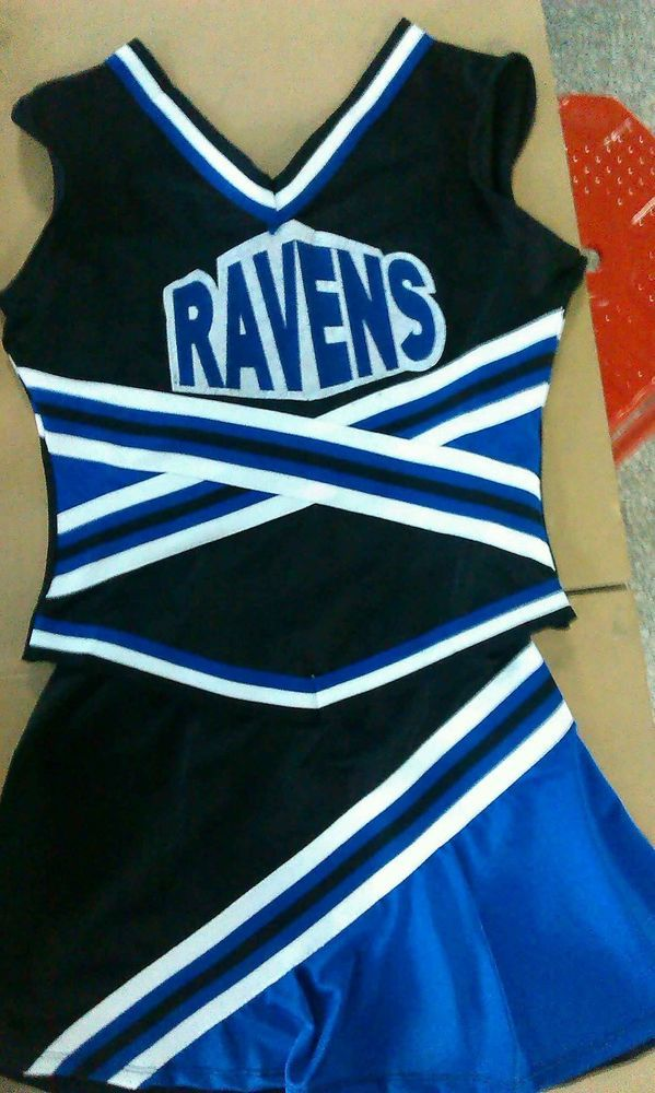 IN STOCK NOW!! RAVENS ONE TREE HILL Cheerleader Costume sz  S/M in Clothing, Shoes, Accessories, Costumes, Women's Costumes | eBay!