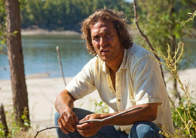 "Matthew McConaughey in ""Mud'. A beautiful film in every way."
