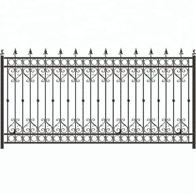 Source Fancy Wrought Iron Fence Designs On M Alibaba Com Baldachim