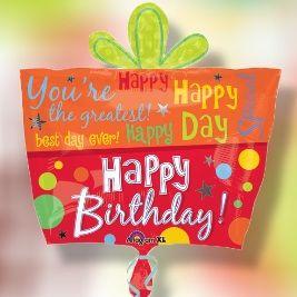 """Happy Birthday Gift Box Bouquet"""
