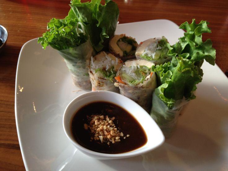 Vietnamese salad rolls @chauveggieexpress simply delicious