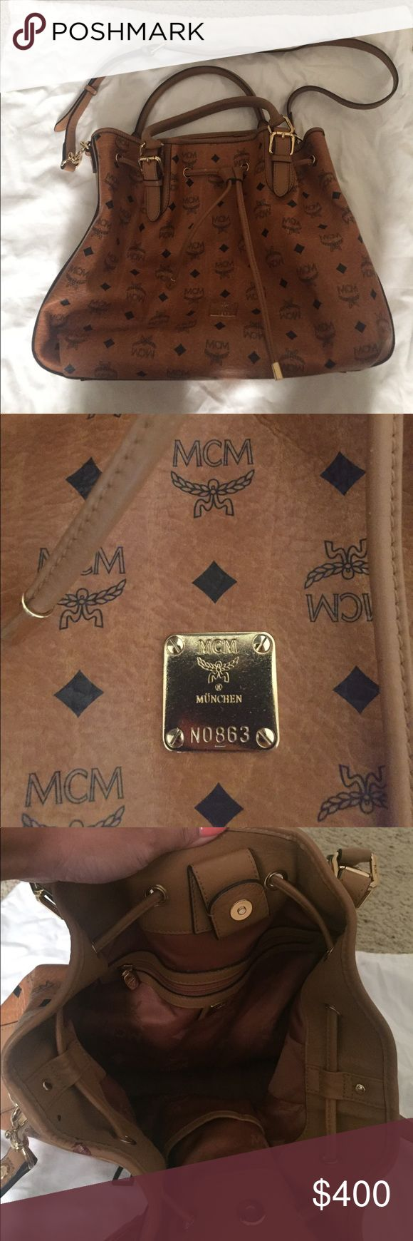 MCM purse gently used MCM  purse gently used, guaranteed authentic, no trading no modeling. MCM Bags Satchels