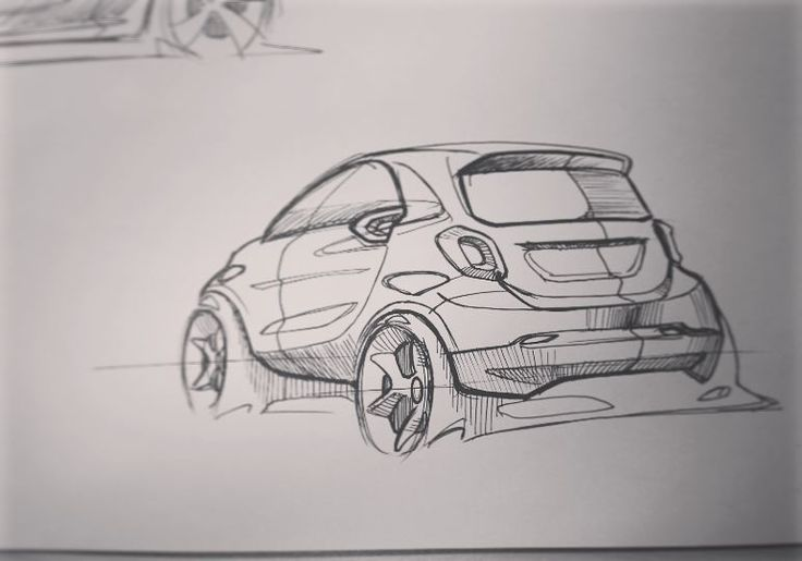 "121 Likes, 1 Comments - Young-Hoon Cho (@cube1005) on Instagram: ""Smart Sketch #car #sketch #cardesign #smart #fortwo #mercedesbenz #mercedes #art #design…"""