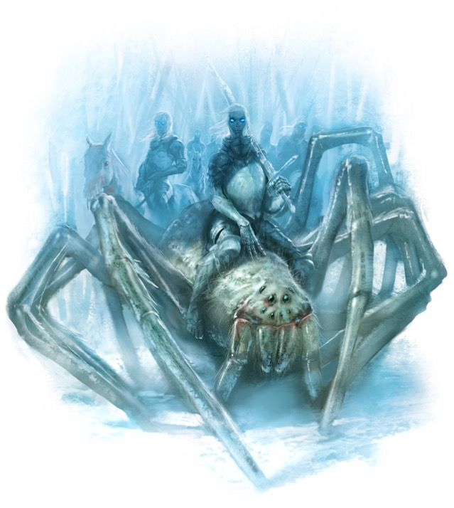 The Others Riding Ice Spiders As Big As Hounds Fogo E Gelo Game