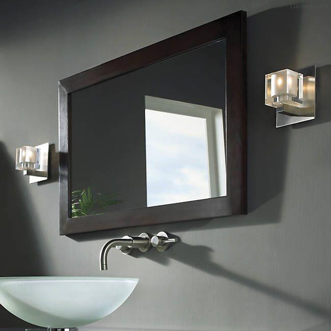 Halogen Bathroom Sconces 45 best bathroom lighting images on pinterest | bathroom lighting