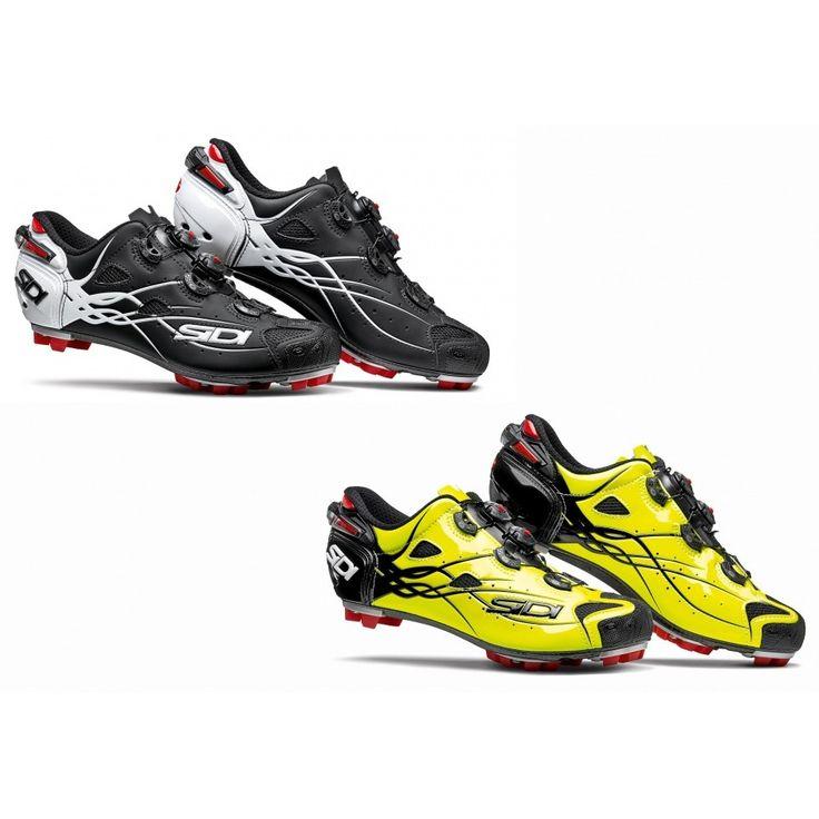 La visibilidad en las prendas ciclistas es muy importante para prevenir accidentes. Sidi ha desarrollado unas zapatillas que brillan en la oscuridad.