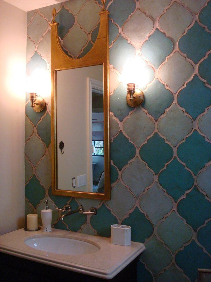 Best 25 Arabesque Tile Ideas On Pinterest Backsplash