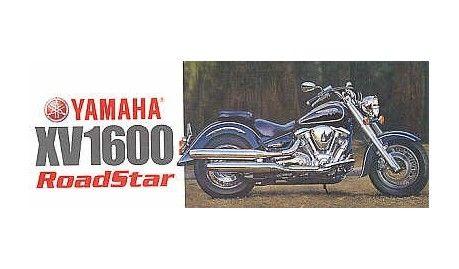 Tamiya - 14080 - Maquette de motos / model motorcycles - Yamaha XV1600 Roadstar -  1/12