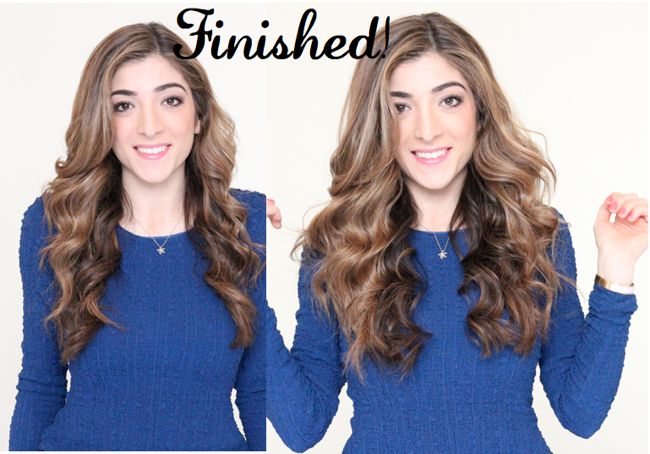pic 8 How to Get Beachy Waves Hair Tutorial cruelty free hair cruelty free beauty
