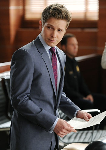 matt czuchry as Cary Agos in  The Good Wife