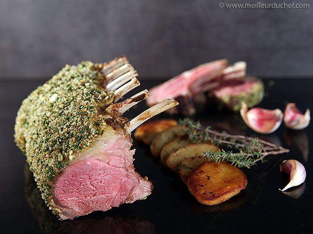 Rack of Lamb with Mustard & Parsley Crust - Meilleur du Chef