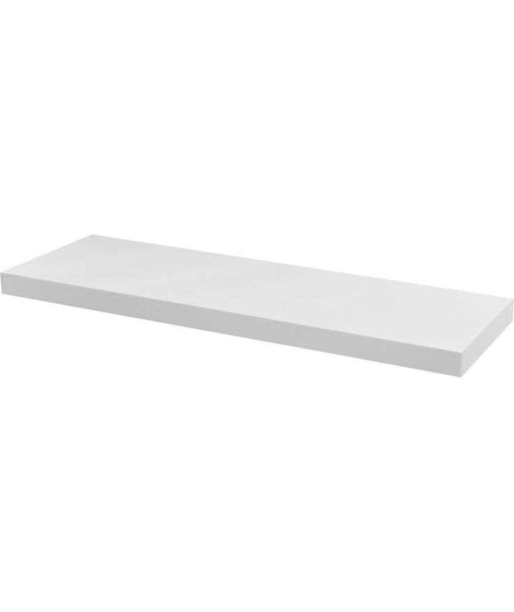 Buy High Gloss 80cm Floating Shelf - White Gloss at Argos.co.uk - Your Online Shop for Wall mounted shelves.