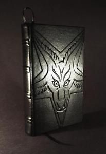 satanic leather | Details about Leather Bound -THE SATANIC BIBLE by ANTON LAVEY- Church ...