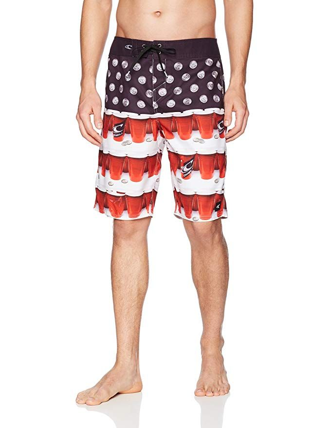 ONeill Mens 21 Inch Outseam Ultrasuede Swim Boardshort