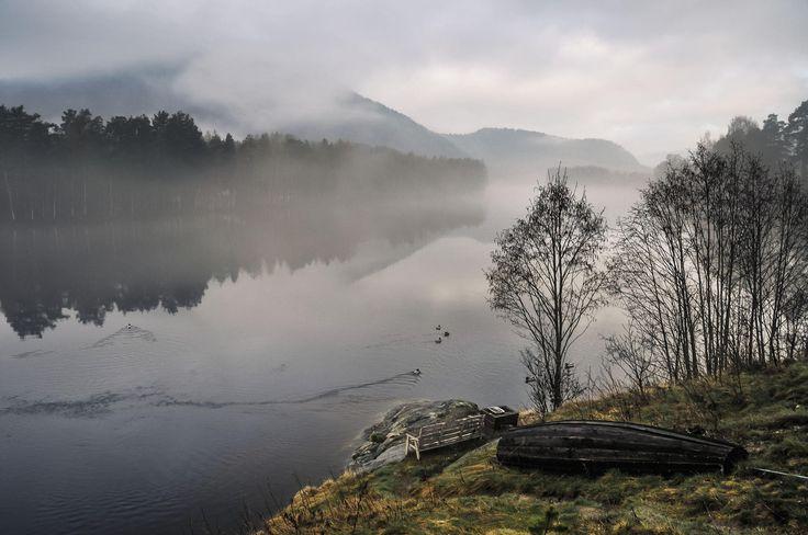 Mist on The Lågen River by Lidia, Leszek Derda on 500px