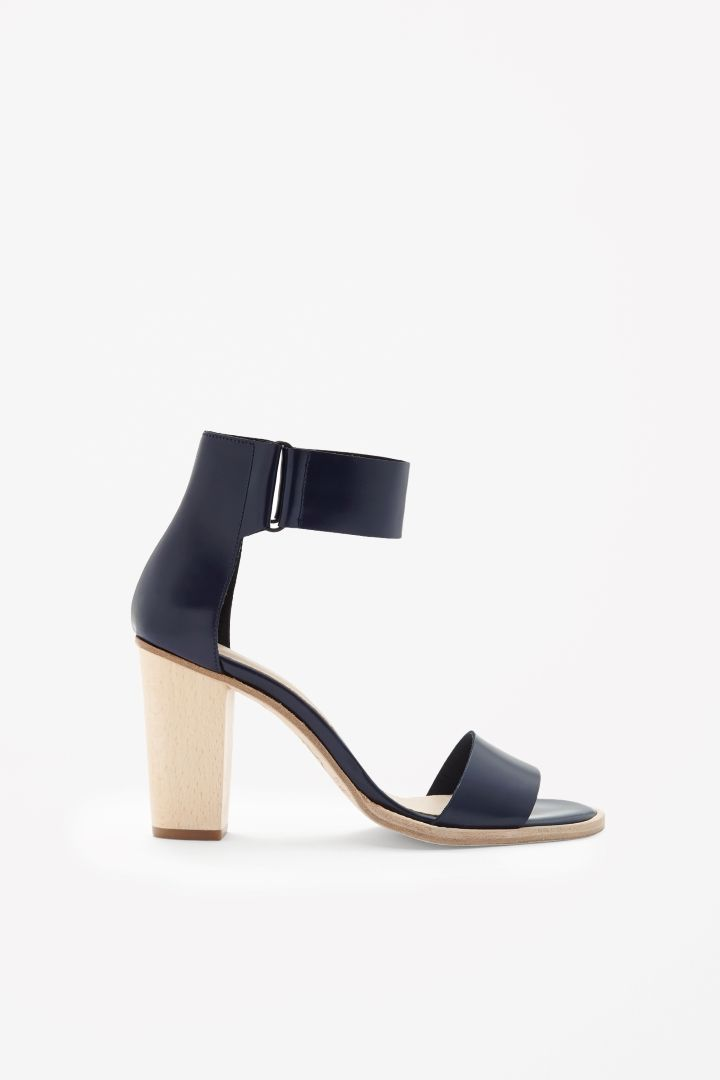 COS | Contrast heel sandals