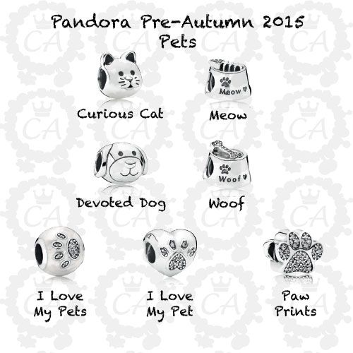Can't wait for these ones to come out, all of the dog ones to match what all my other dog Pandora :)