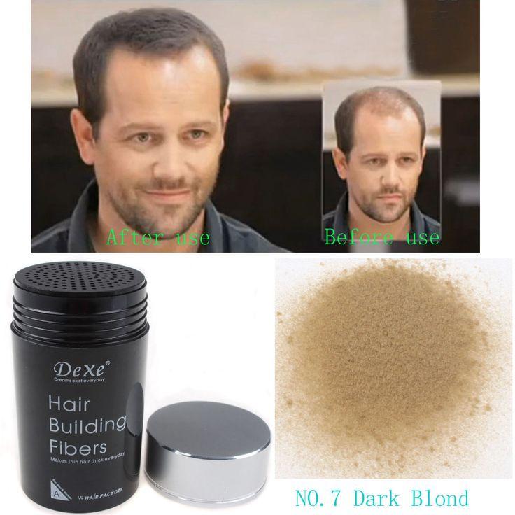 Dexe HAARVERZORGING Haaruitval Behandelingen HAARPOEDER 22g Donker Blond KLEUR #07