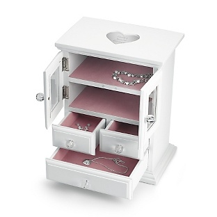 Girl's Tall Jewelry Box at Things Remembered