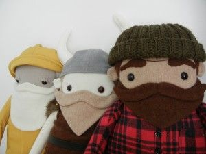 Skipper. Viking. Lumber Jack. Trifecta.   Chickpea Studios
