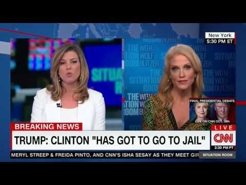 Kellyanne Conway Destroys CNN Anchor: I read the CNN polls Brianna! - YouTube