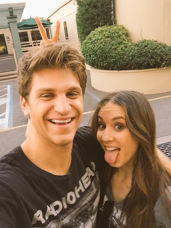 Keegan Allen and Troian Bellisario