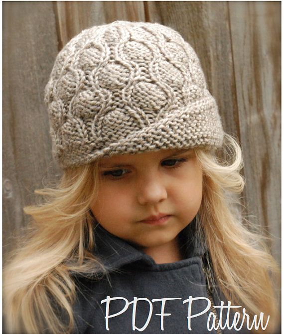 Knitting - http://www.etsy.com/listing/162072034/knitting-pattern-the-harmony-cloche