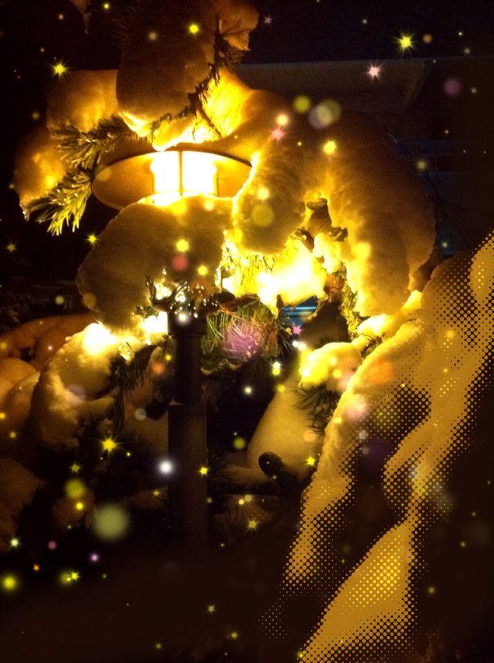 #snow #light #lamp #repix