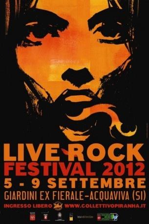 Live Rock Festival 2012   RollingStone   Eventi