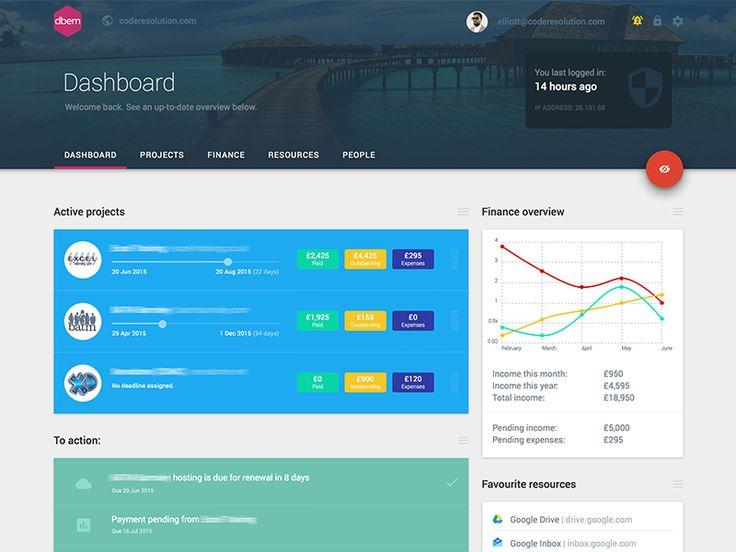 119 best Dashboard images on Pinterest | Dashboard design, Flat ...