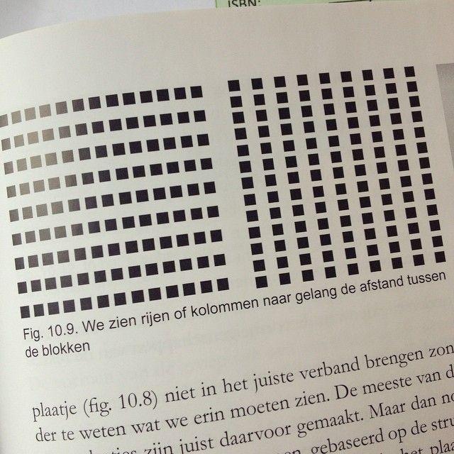 Afstand tussen vormen beïnvloed hoe we het geheel zien. Een van de principes over afbeeldingen uit 'De kunst van het afbeelden'.