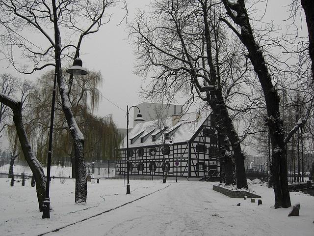 """Bydgoszcz - Mill Island called """"Bydgoszcz Venice"""" (Wyspa Młyńska) by Peter2222, via Flickr"""