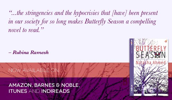 Get your copy of Butterfly Season from:  Amazon: http://amzn.to/1qslWyh Amazon India: http://ow.ly/uMa4Q Amazon UK: http://www.amazon.co.uk/dp/B00IZ3XD3K Indireads: http://ow.ly/uMaaa Smashwords: http://ow.ly/uMadk Barnes & Noble: http://ow.ly/uMafr iTunes: http://bit.ly/1jQpPNc
