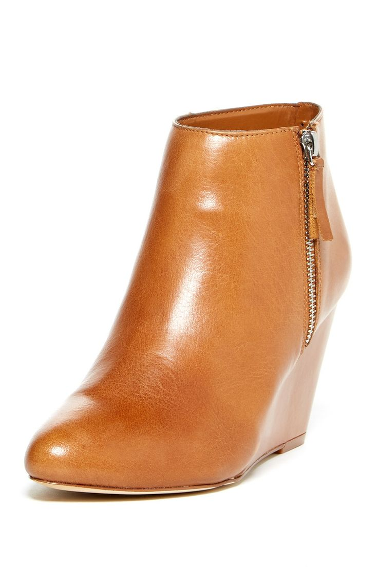Gino Wedge Bootie - LOVE this color!
