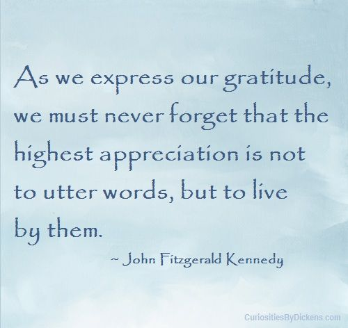 John F Kennedy Gratitude Quote: 17 Best Images About Gratitude On Pinterest