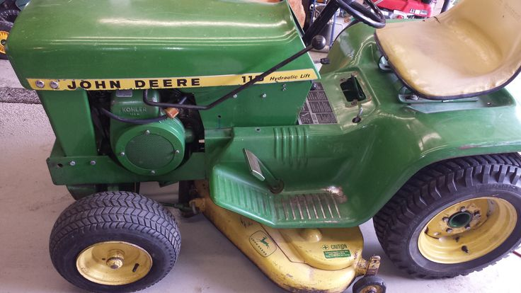 John Deere 318 >> Pin on John Deere 110