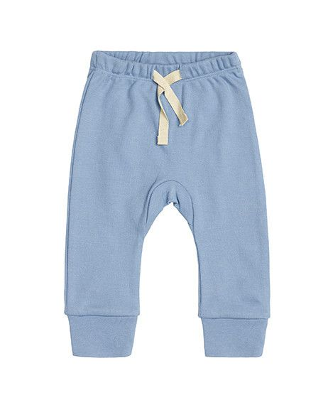 These pants are exclusively designed by Sapling, an Australian company specialising in 100% organic cotton children's wear.    Little Boy Blue with heart on bottom. Made from super soft, high quality, double jersey.  100% GOTS certified organic cotton.   Printed with 100% GOTS approved water based dyes that are free from toxic chemicals and heavy metals. Features an elastic and drawstring waist, allowing for easy adjustments. Has ankle cuffs which can be rolled up or down for the perfect…