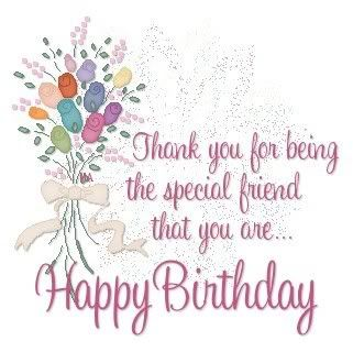 Special Friend Birthday Quotes. QuotesGram