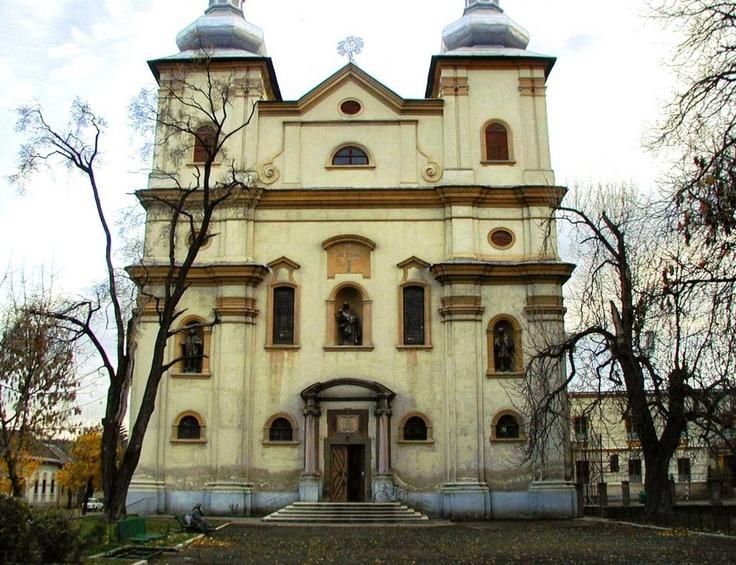 Biserica Sfanta Treime în Baia Mare, Maramures, Romania.
