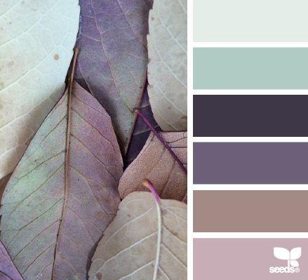 leaf hues - Voor meer kleur inspiratie kijk ook eens o p http://www.wonenonline.nl/interieur-inrichten/kleuren-trends/