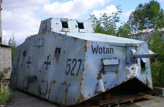 WW1 German Battle tank.