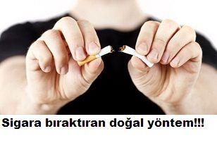 Sigara bıraktıran doğal yöntem bu doğal tarif ile sigara içme alışkanlığınıza son vereceksiniz tarifimiz şöyle