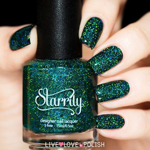 Starrily Emerald City Nail Polish   Live Love Polish - SEAHAWKS COLORED NAIL POLISH