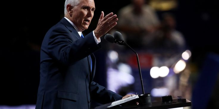 "Mike Pence Says Trump 'Will Stand With Our Allies.' Trump Says The Opposite. Reuters reported in April that Trump's ""America First"" message was alarming U.S. allies, and he upset many allies of America when he proposed banning all Muslims from entering the United States. Former Secretary of State Madeleine Albright said in March that U.S. allies are ""definitely worried"" about a potential Trump presidency"